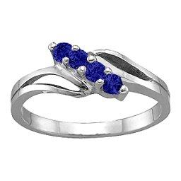 2-7 Stones Branch Ring