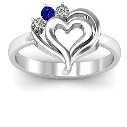 Radial Love Ring