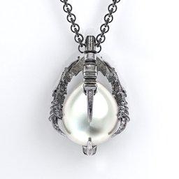 Carmilla - Dean's Pearl Claw Pendant