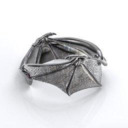 Carmilla - Bat Wings Ring