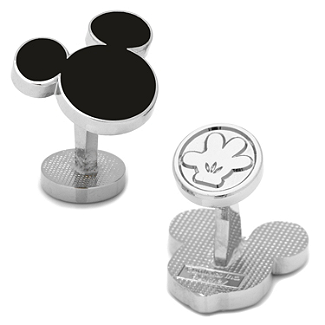 Disney - Mickey Mouse Silhouette Cufflinks