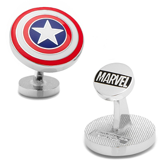 Marvel - Captain America Shield Cufflinks