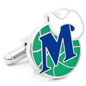 NBA- Vintage Dallas Mavericks Cufflinks