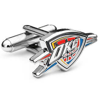 NBA- Oklahoma City Thunder Cufflinks