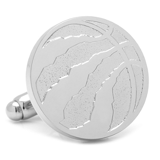 NBA - Toronto Raptors Silver Edition Cufflinks