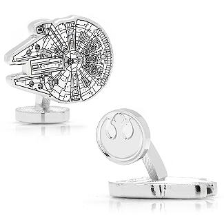 Star Wars - Millennium Falcon Blueprint Cufflinks