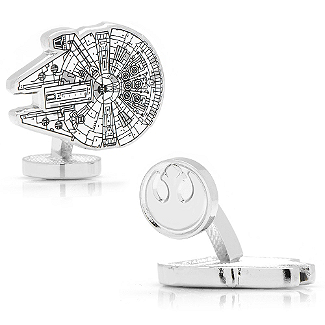 Star Wars - Millennium Falcon Blueprint Cufflinks
