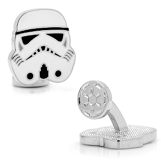 Star Wars - Stormtrooper Head Cufflinks