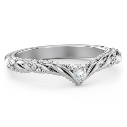 The Rita Diamond Wedding Band