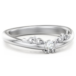 The Sophia Diamond Wedding Band