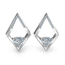 Optical Elegance Earrings