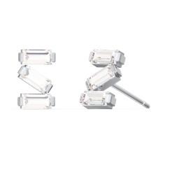 Baguette Scatter Stud Earrings