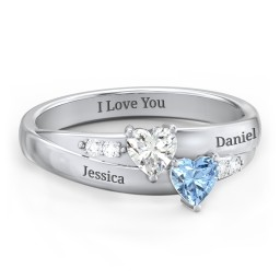 f947cc18ef Promise Rings - Personalized with Gemstones and Engravings | Jewlr