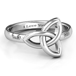 Sinéad Celtic Knot Ring