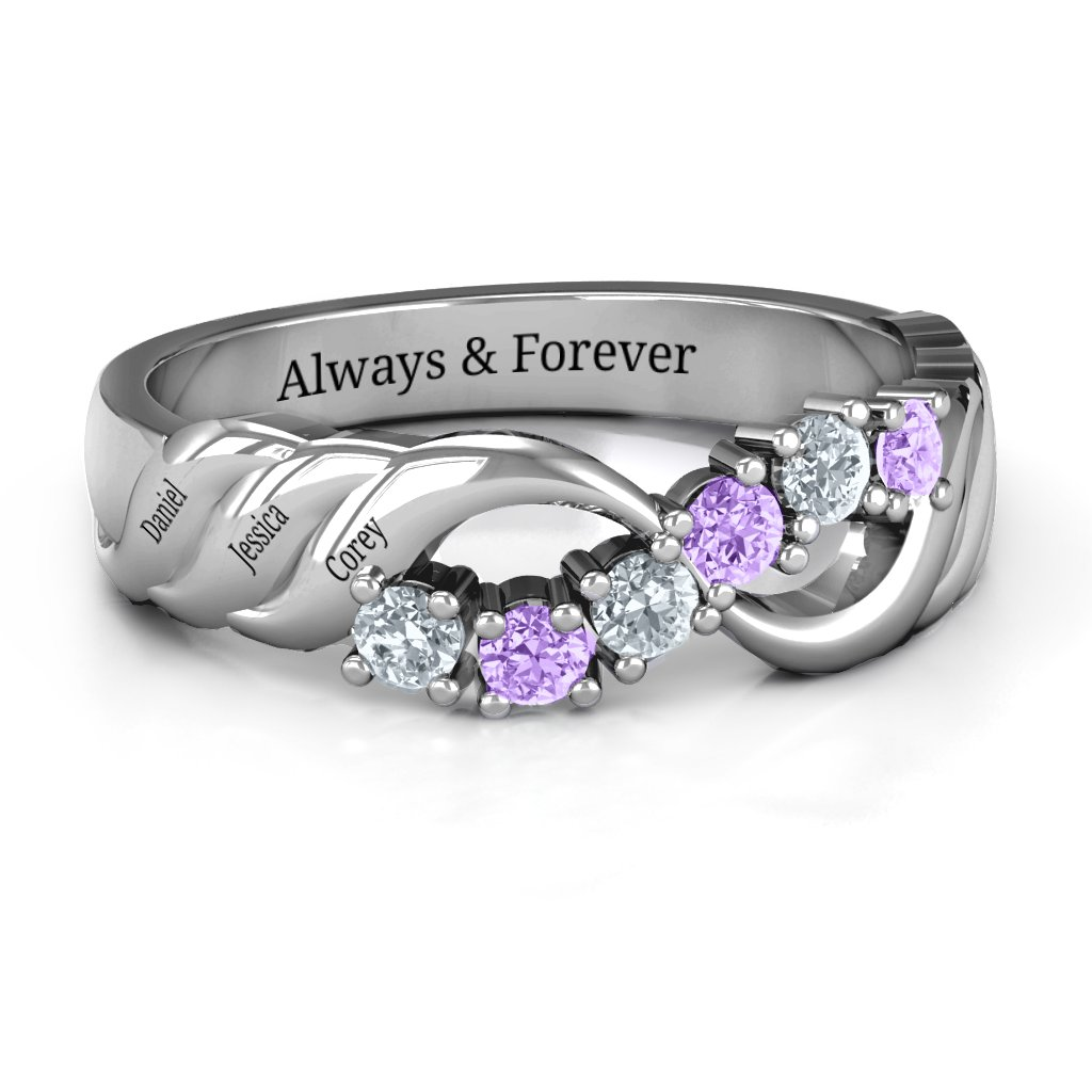 cc448244b Customized Birthstone Rings - Personalizable and Engravable | Jewlr