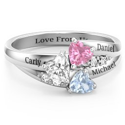 1cb211ac5420a4 Birthstone Rings - Personalizable and Engravable | Jewlr