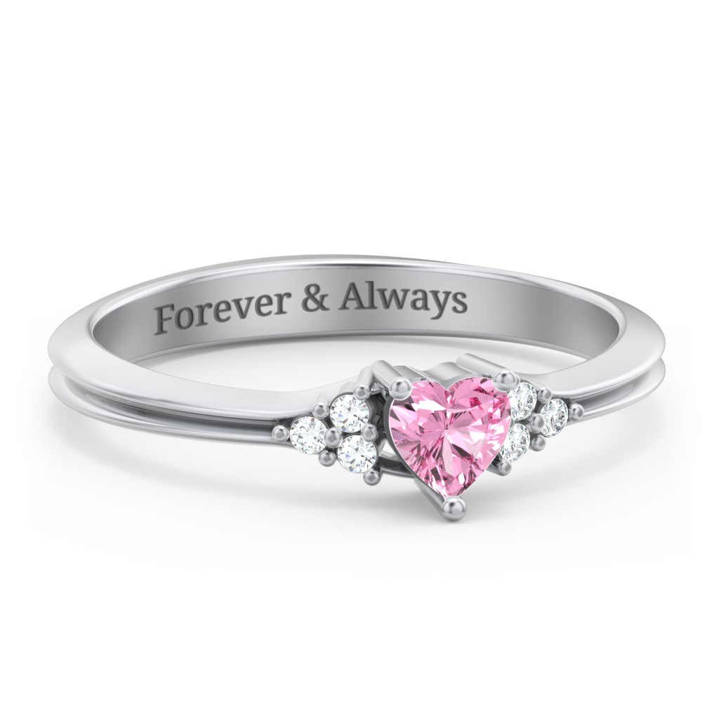 a1ce76a5a7 Promise Rings - Personalized with Gemstones and Engravings | Jewlr
