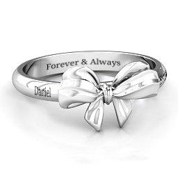 Papillon Bow Ring