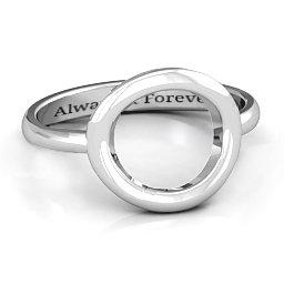 Simple Circle Karma Ring