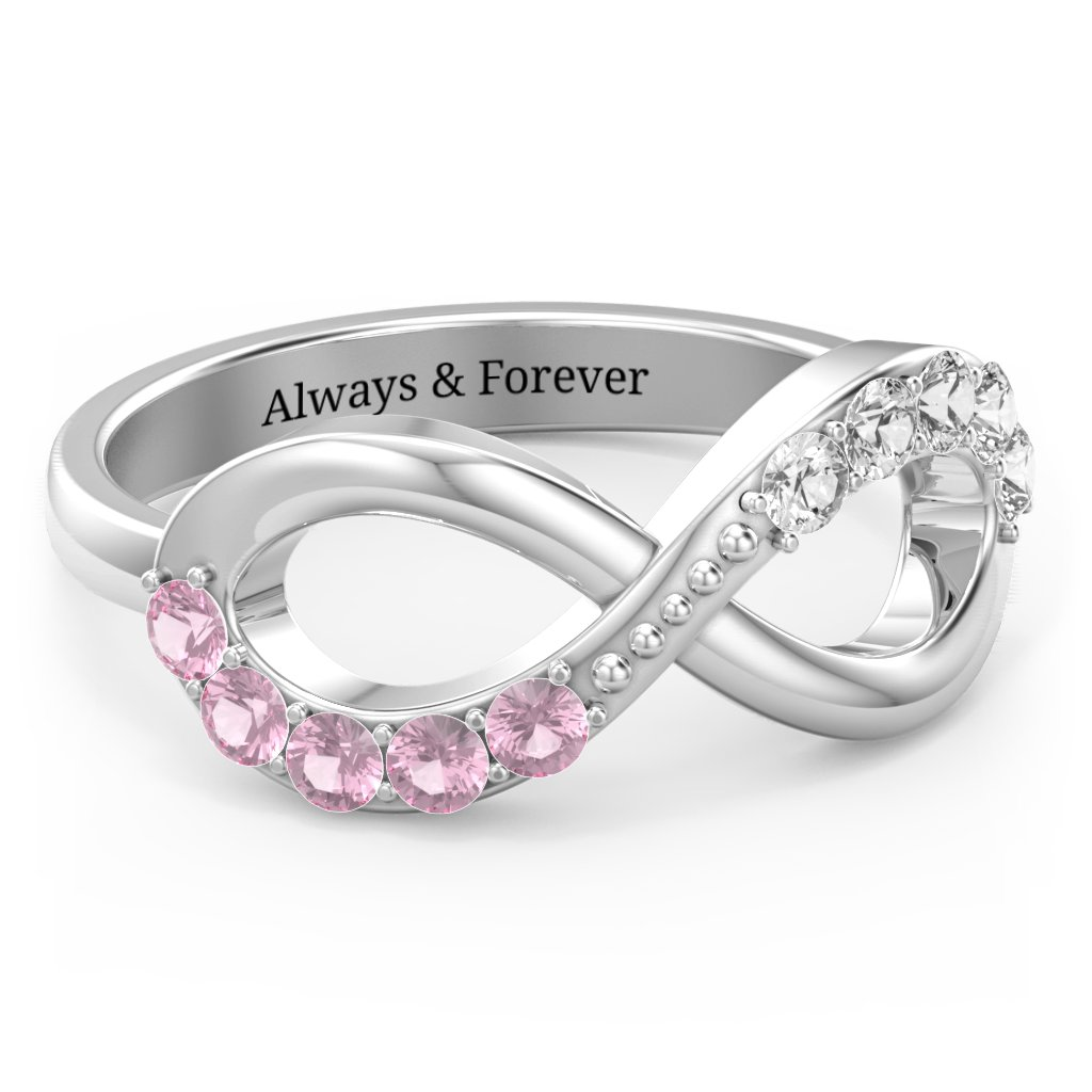 f666e6d042dc5d Infinity Rings - Personalized by you | Jewlr