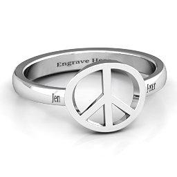 Shanti Peace Ring