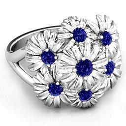 """""""In Full Bloom"""" Ring"""