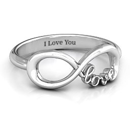 Love Infinity Ring