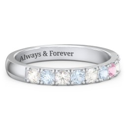 3 - 11 Stone Affinity Ring