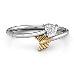 Heart & Arrow Ring