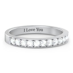 Classic Half Eternity Ring