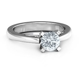 Adoration Solitaire Ring