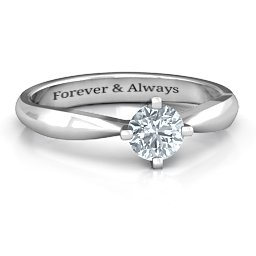 Sandra Solitaire Ring