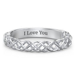 Woven in Love Ring