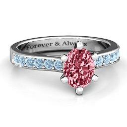 Shining in Love Ring