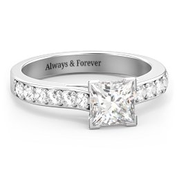Janelle Princess Cut Ring