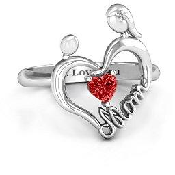 Unbreakable Bond Heart Ring