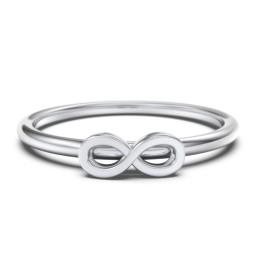 Infinity Stacking Ring