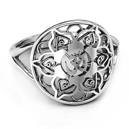 Om Mandala Ring