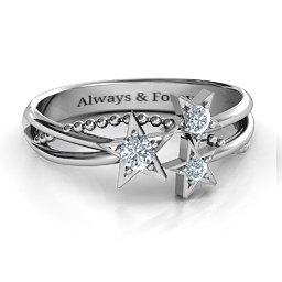 Twinkling Starlight Ring