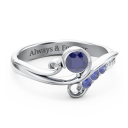 Family Flair Ring With 2-6 Birthstones