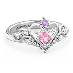 Fairytale Princess Tiara Ring