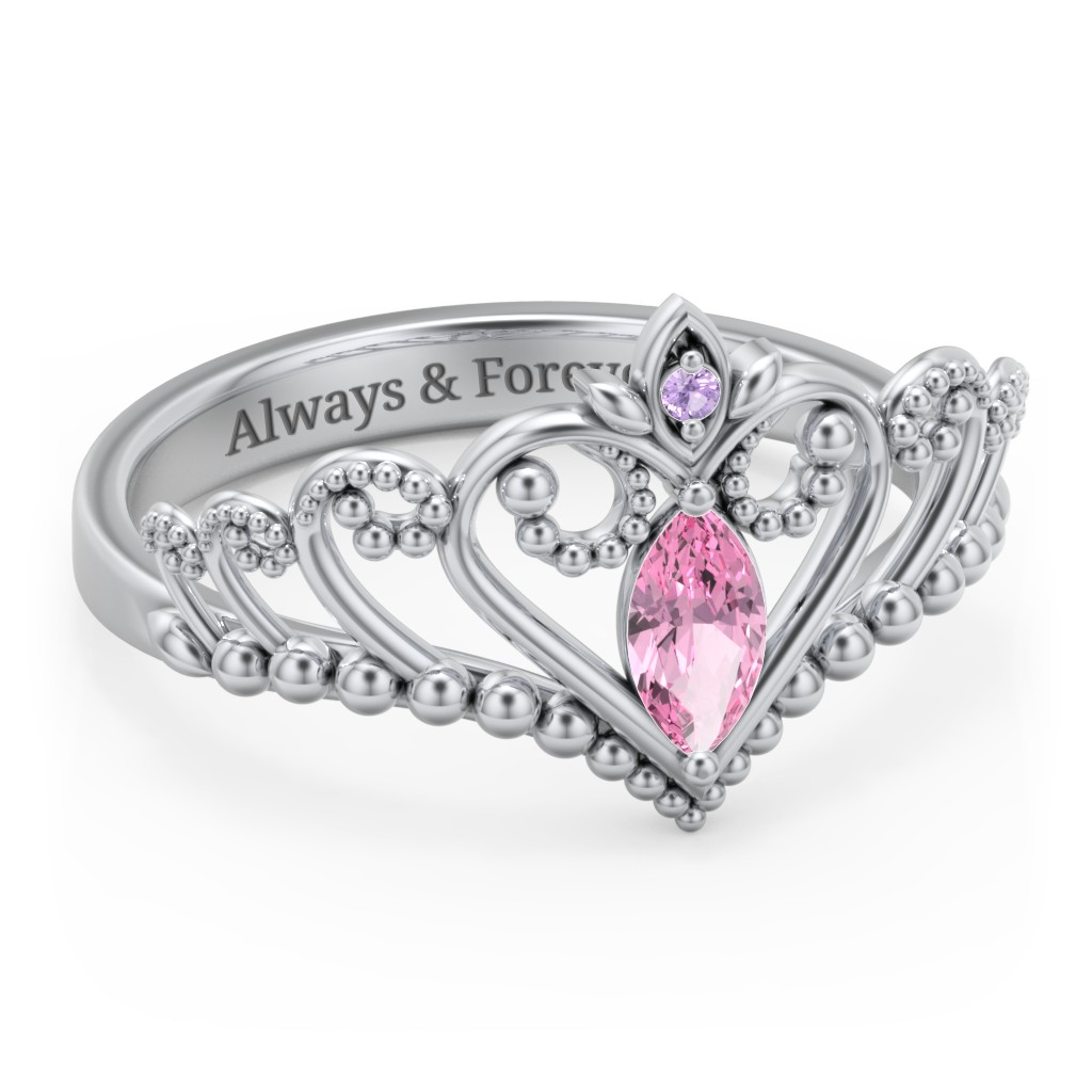 39cf35308 Promise Ring For Her - Personalised by you   Jewlr