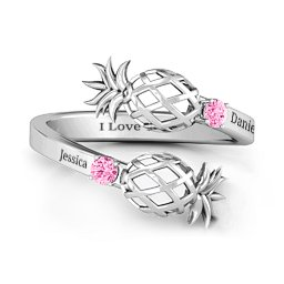 Pineapple Passion Wraparound Ring