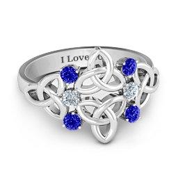 Celtic Charm Ring