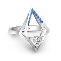 Optical Elegance Ring