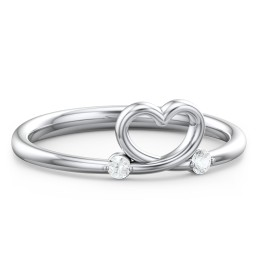 Two in Love Ring