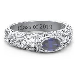 Vintage Graduation Ring