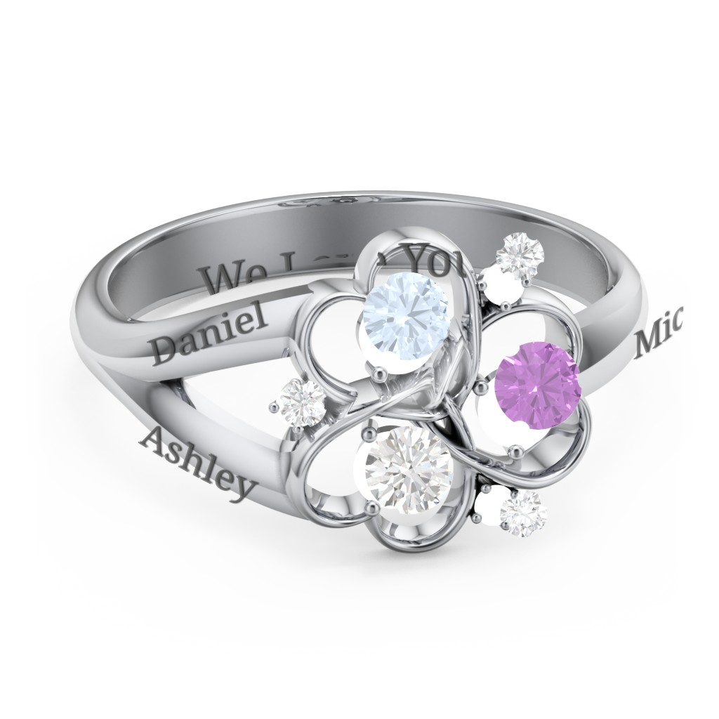 85201169c9b84 Mothers Rings - Personalizable and Engravable | Jewlr