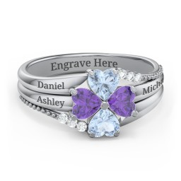 A Mother's Love and Luck  Ring