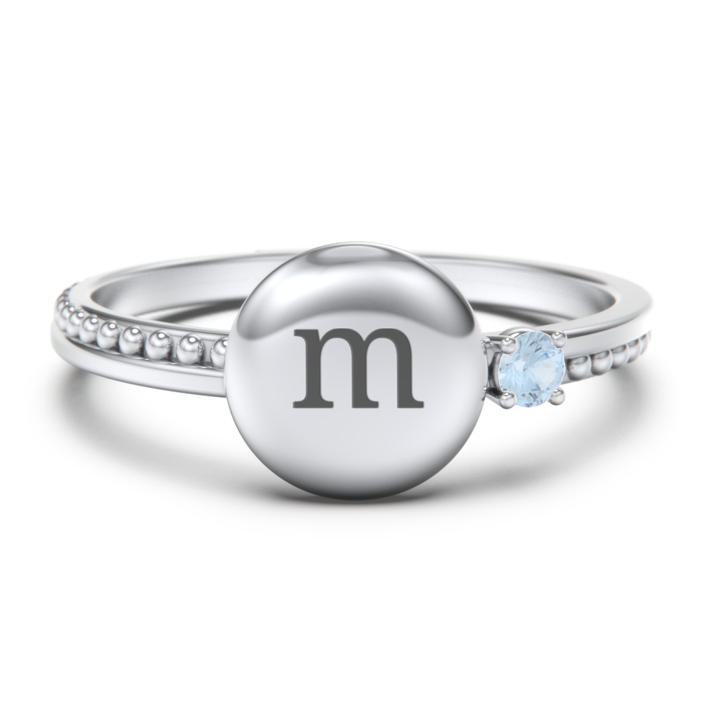 f71cc23052 Birthstone Rings - Personalizable and Engravable | Jewlr